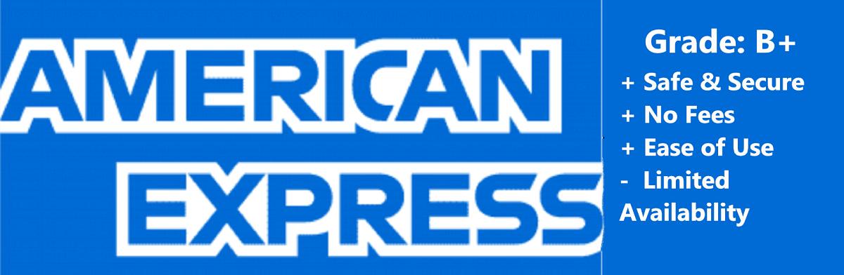 American Express usa casinos
