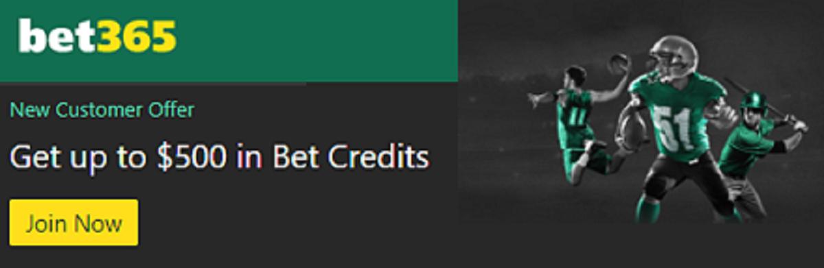 Bet365 bonus code nj