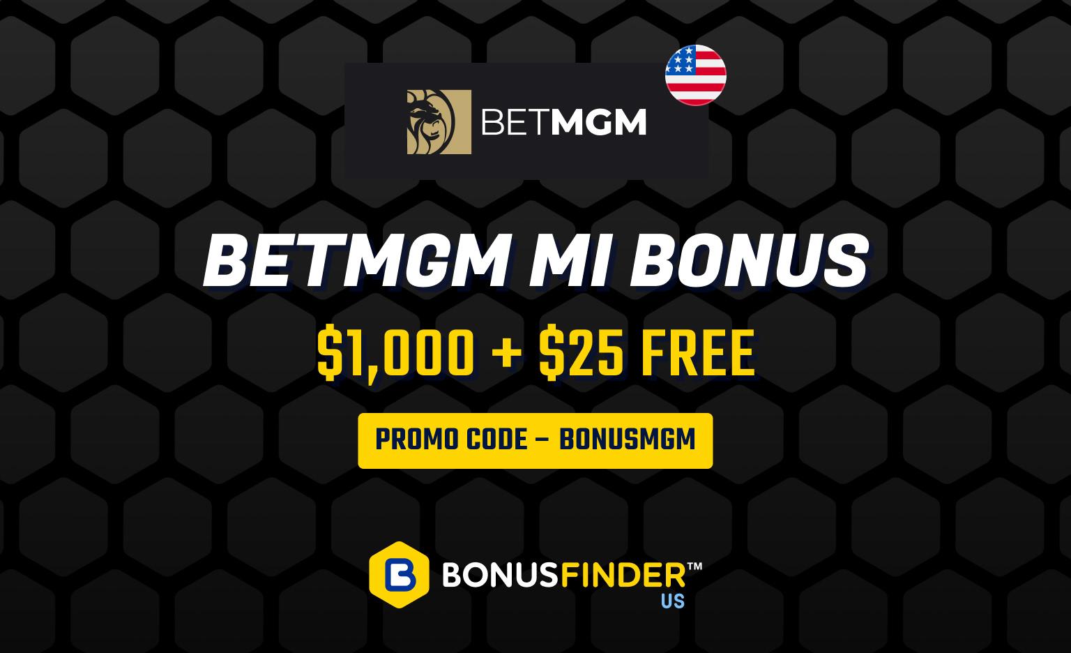 BetMGM Michigan Bonus Code