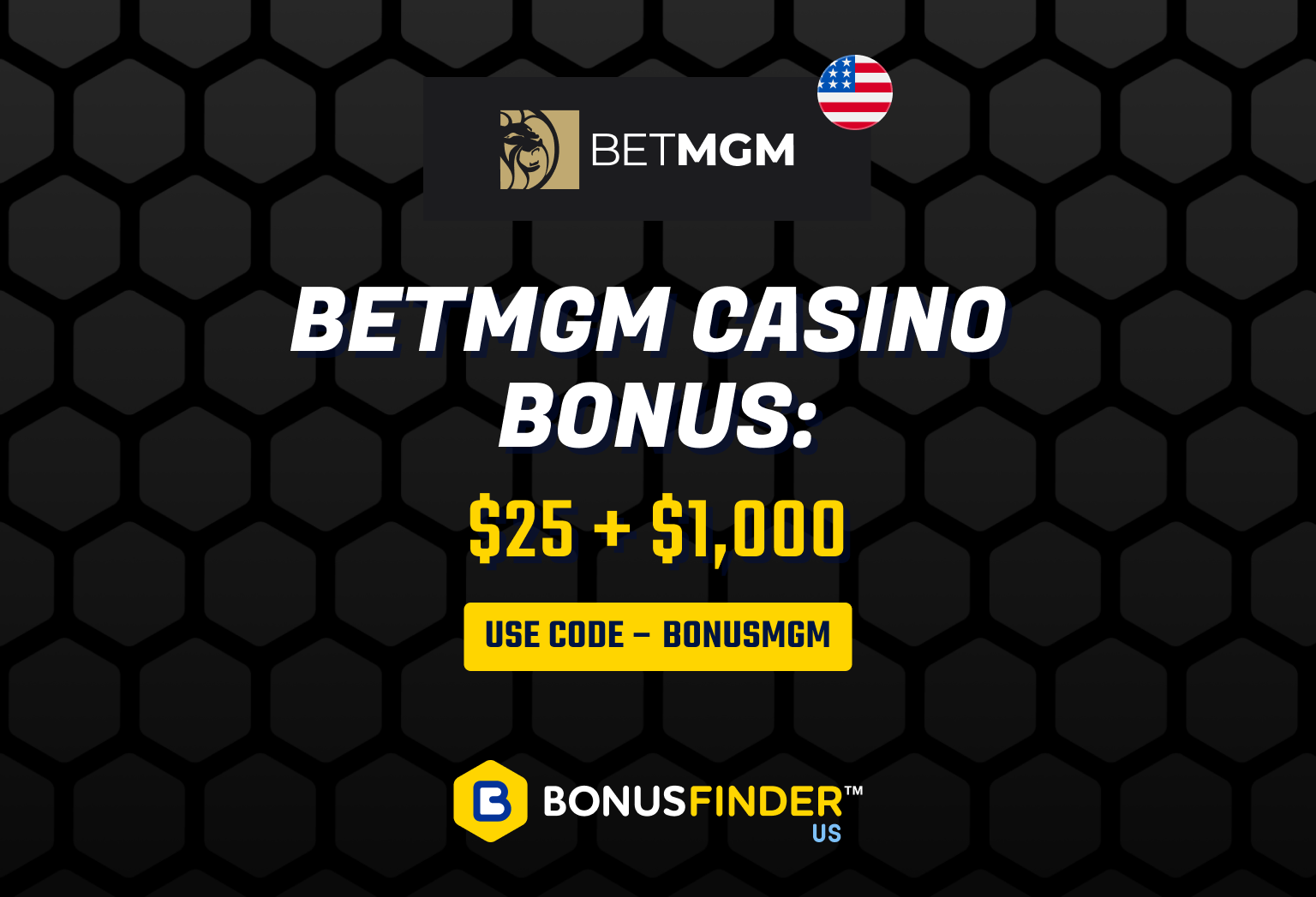 betmgm casino bonus code