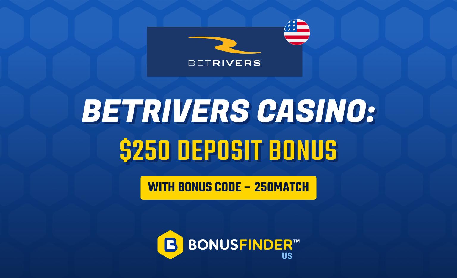 BetRivers Casino bonus