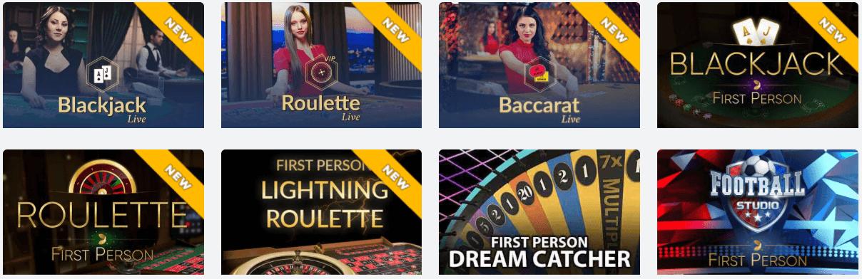 Live Dealers Michigan casino