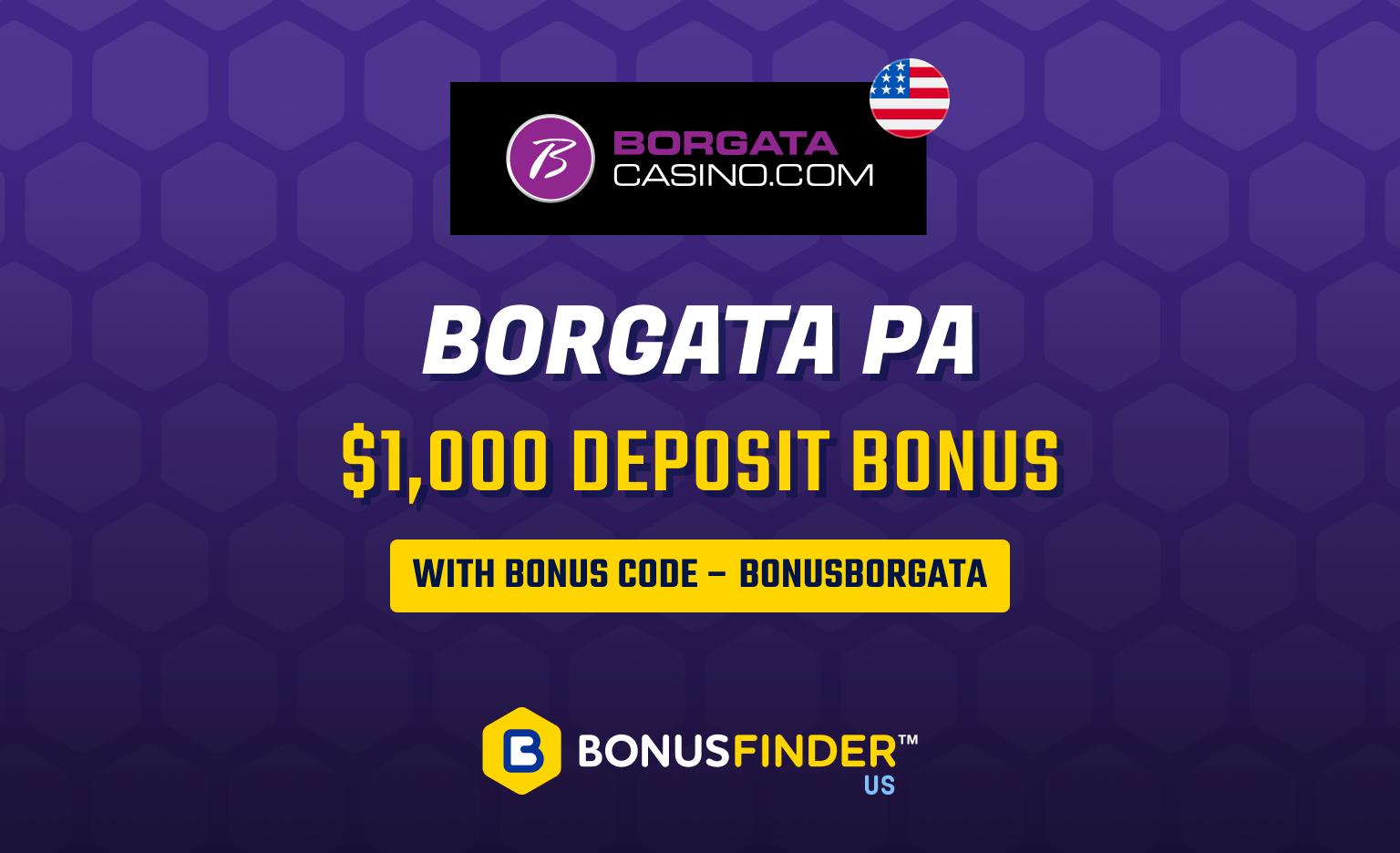 Borgata PA online casino promo code