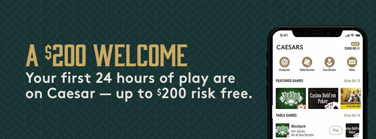 Caesars Michigan casino bonus code