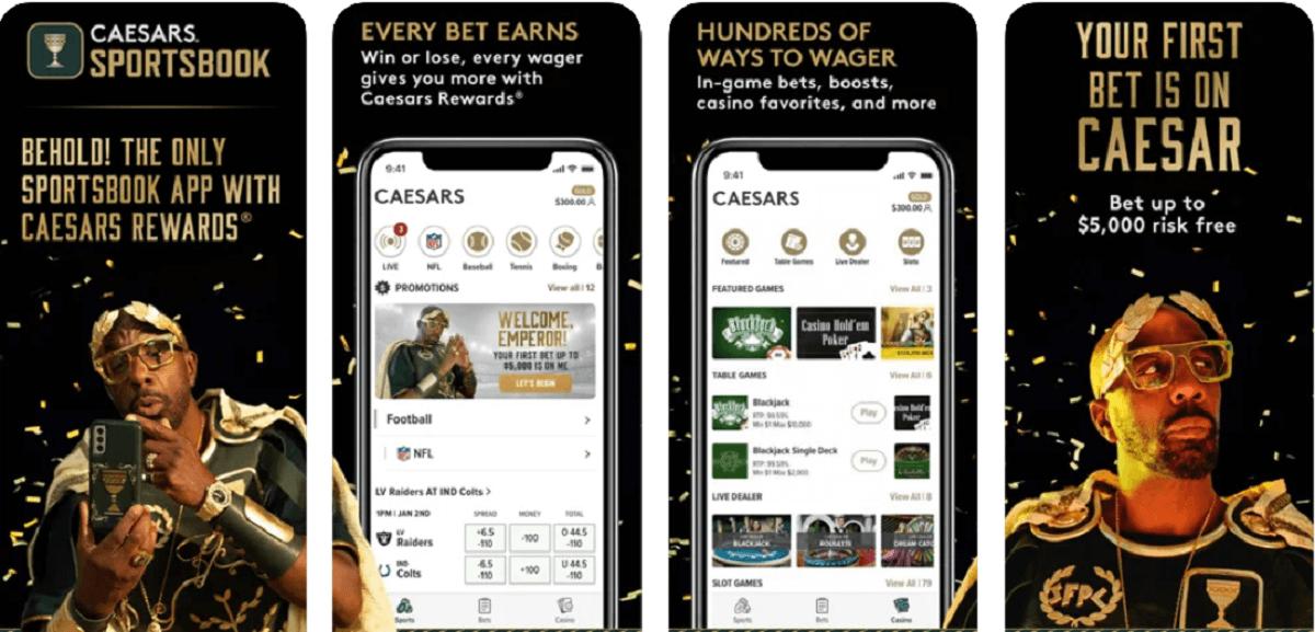 Caesars casino Michigan app