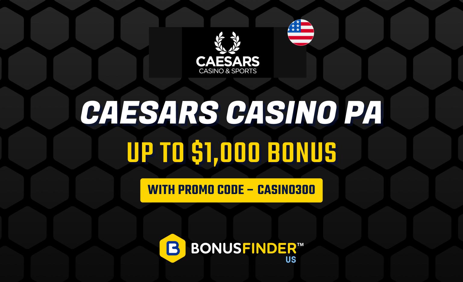 Caesars PA promo