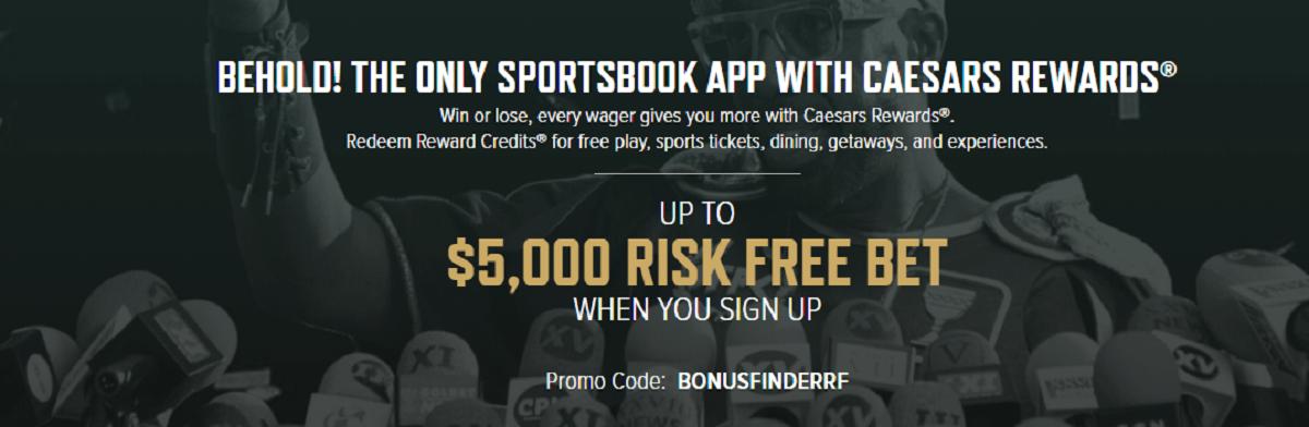 Caesars Arizona bonus code