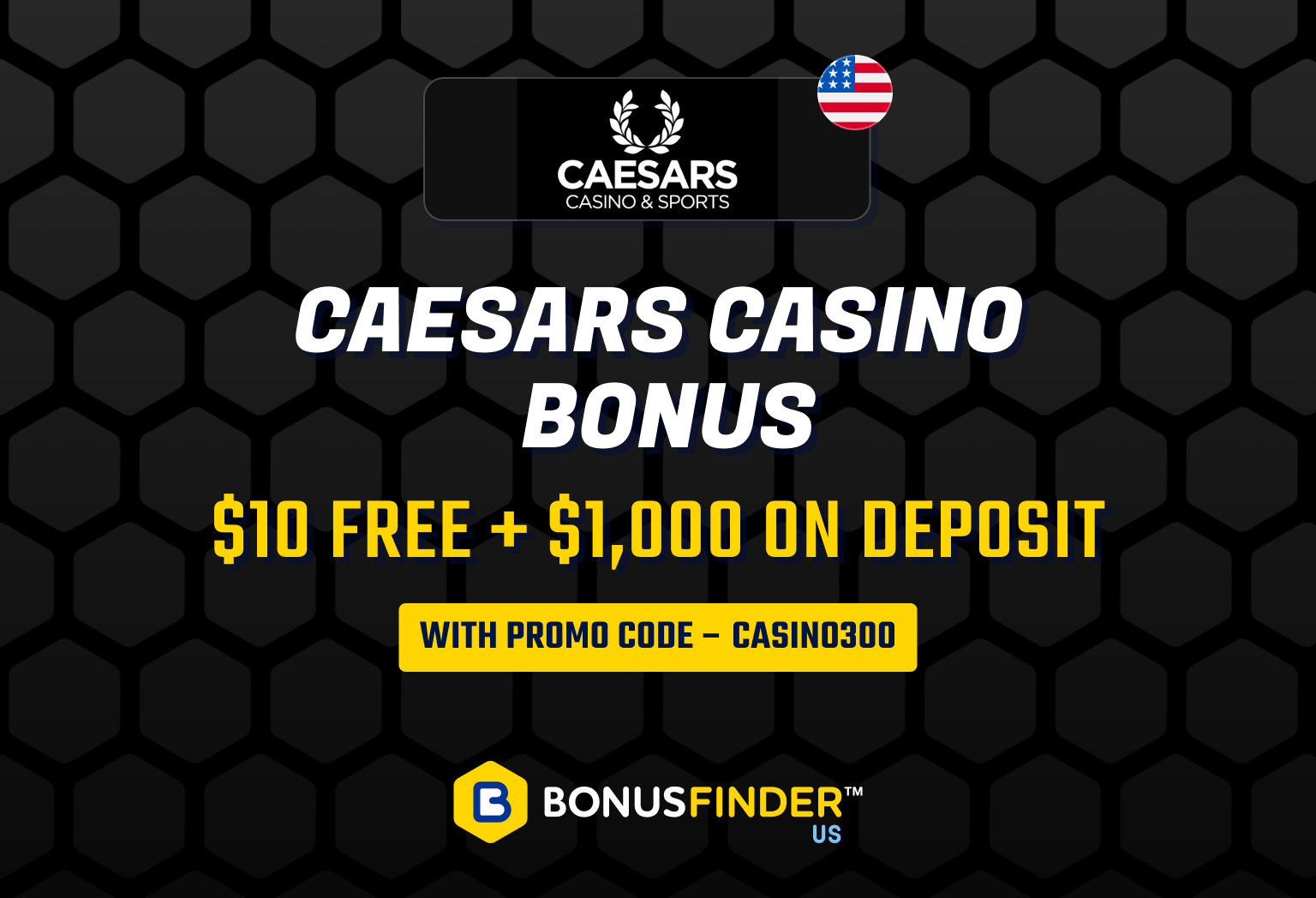 Caesars Casino Bonus Code