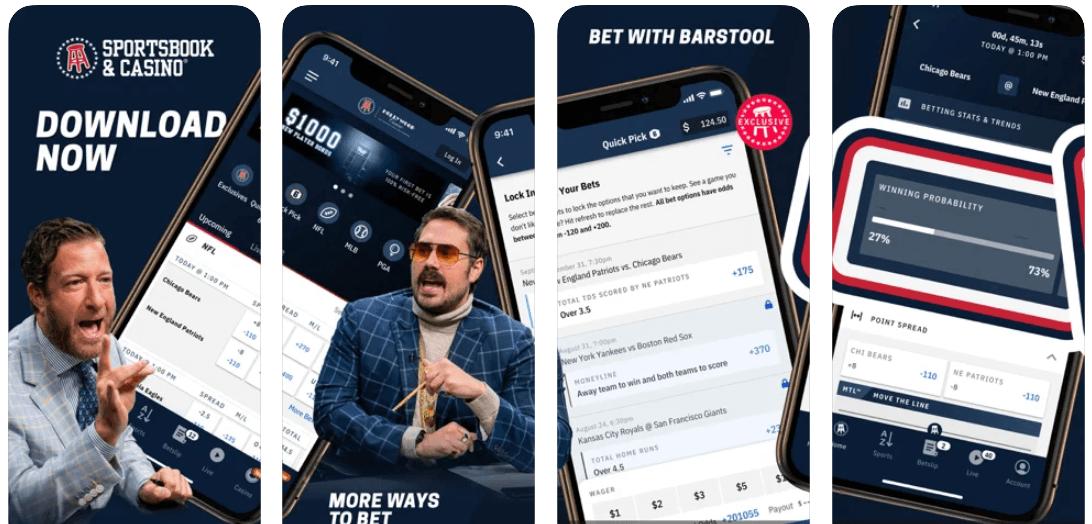 Barstool Michigan app