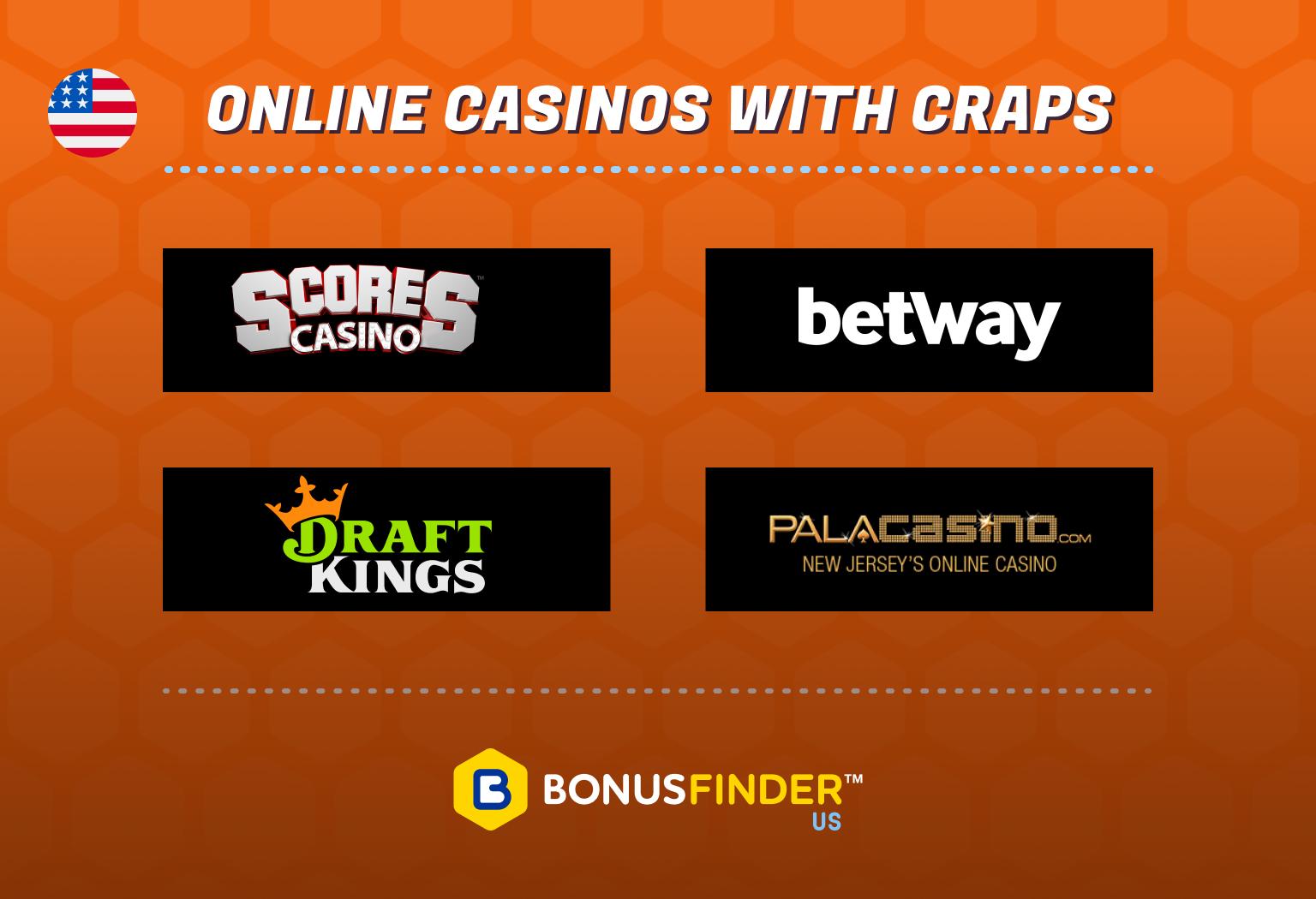 Online Casinos with Craps