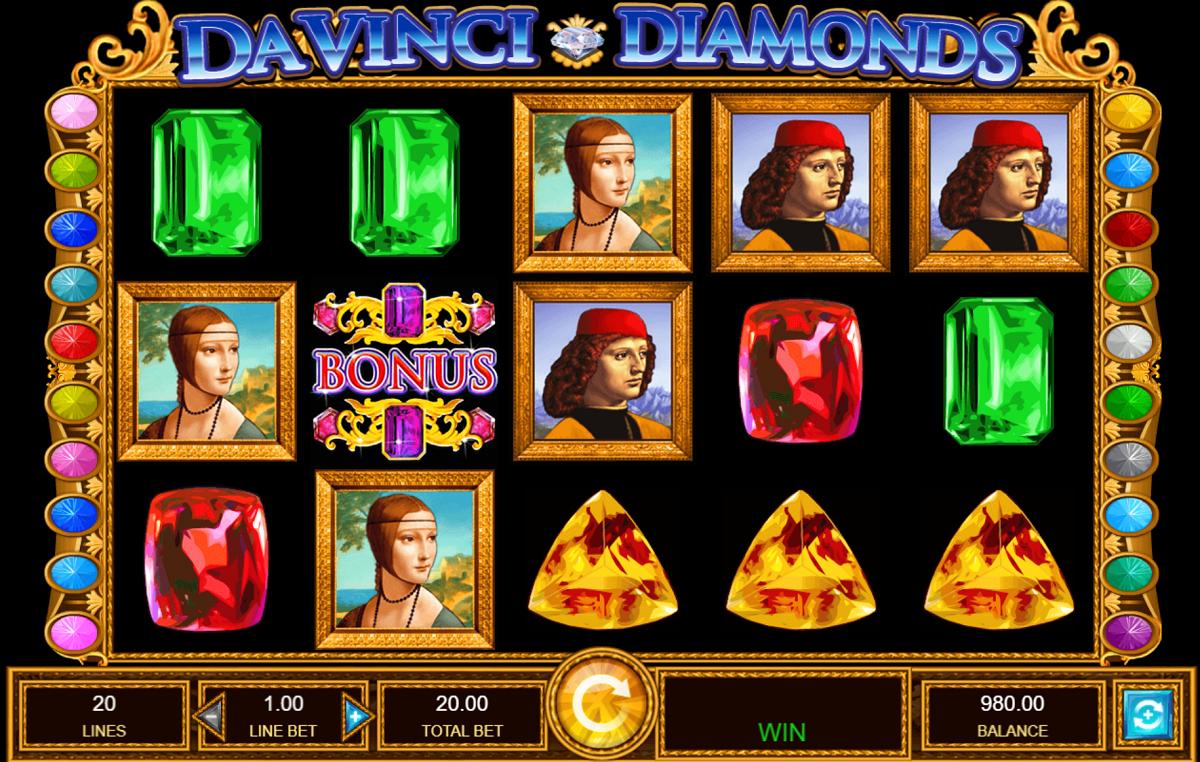 Da Vinci Diamonds Game