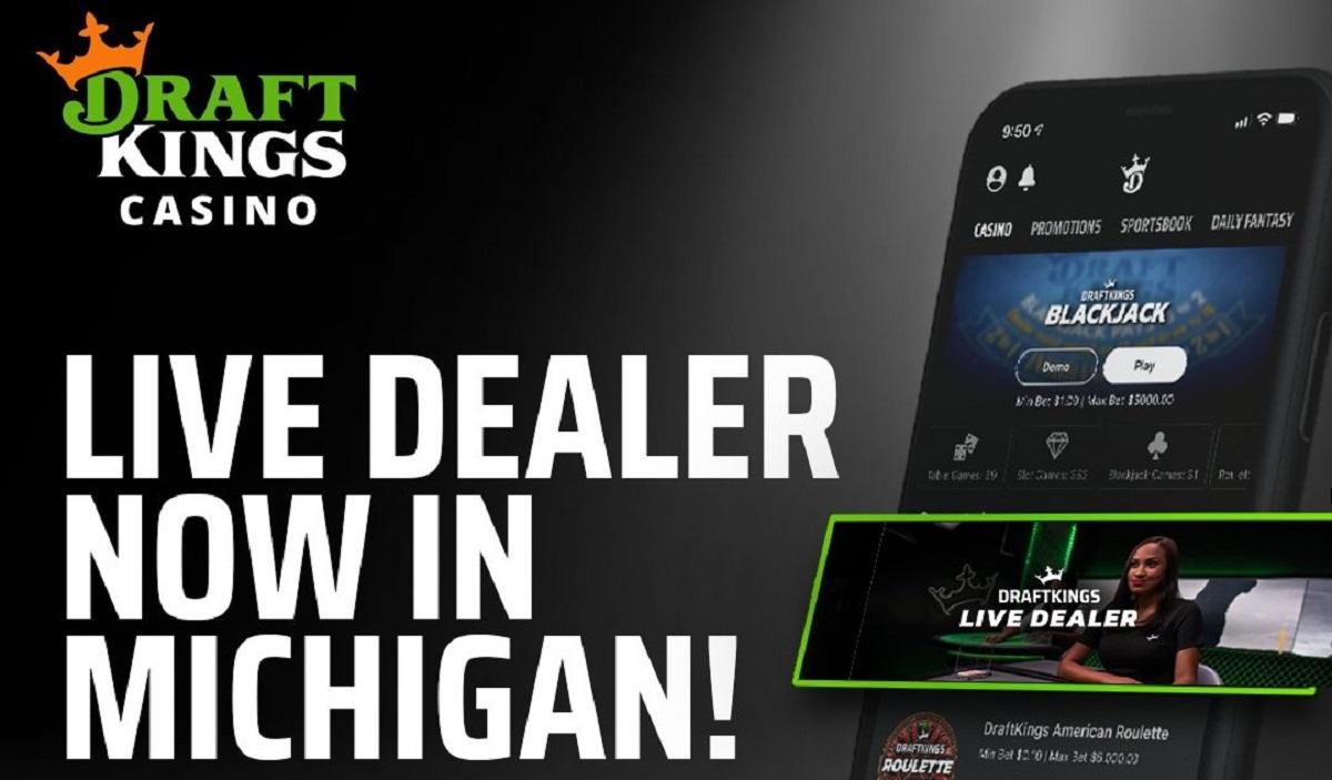 DraftKings Michigan live dealer