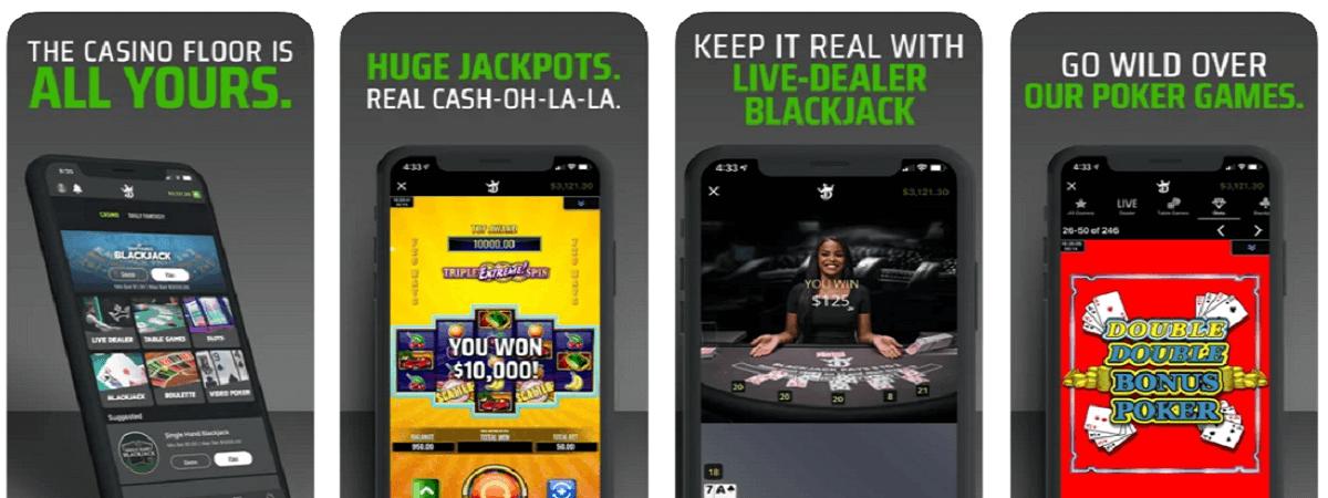 DraftKings MI mobile casino