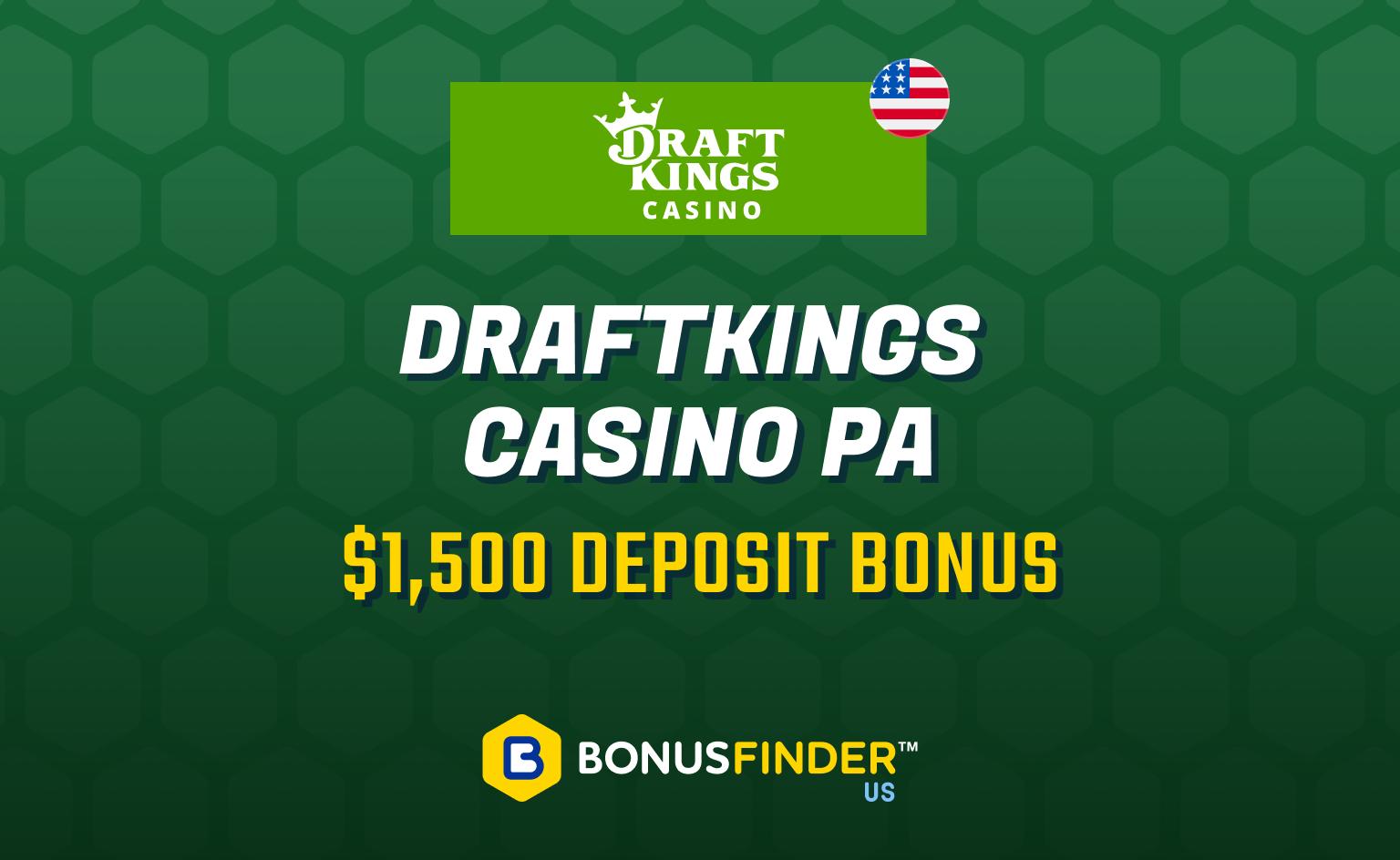 DraftKings Casino PA promo code