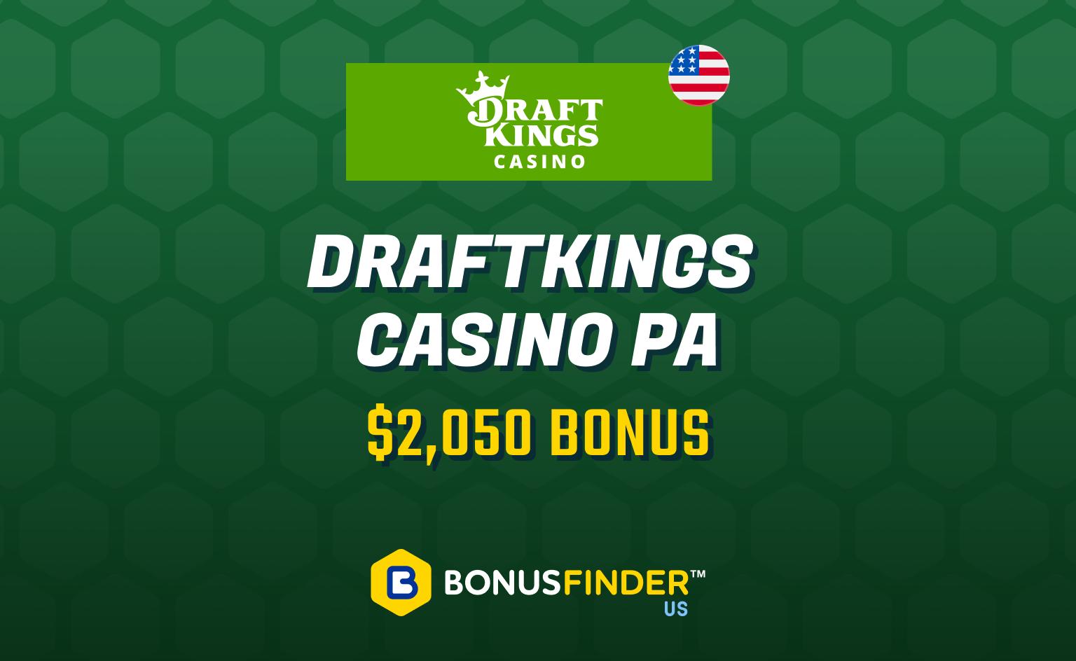 DraftKings PA bonus