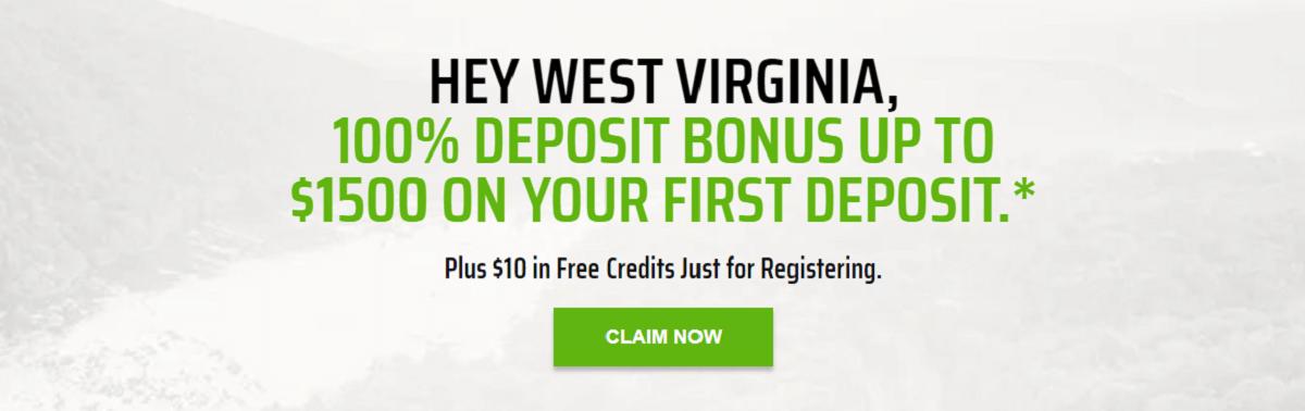 DraftKings WV Casino bonus Code