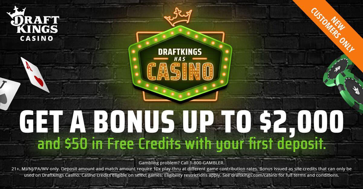 DraftKings Casino Michigan Bonus