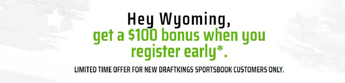 DraftKings Wyoming Sportsbook Offer