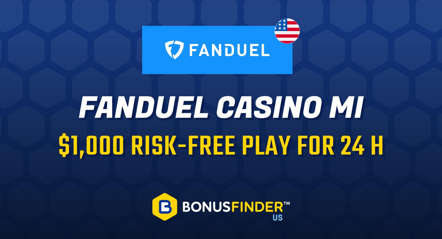 FanDuel Michigan Casino Promo Code
