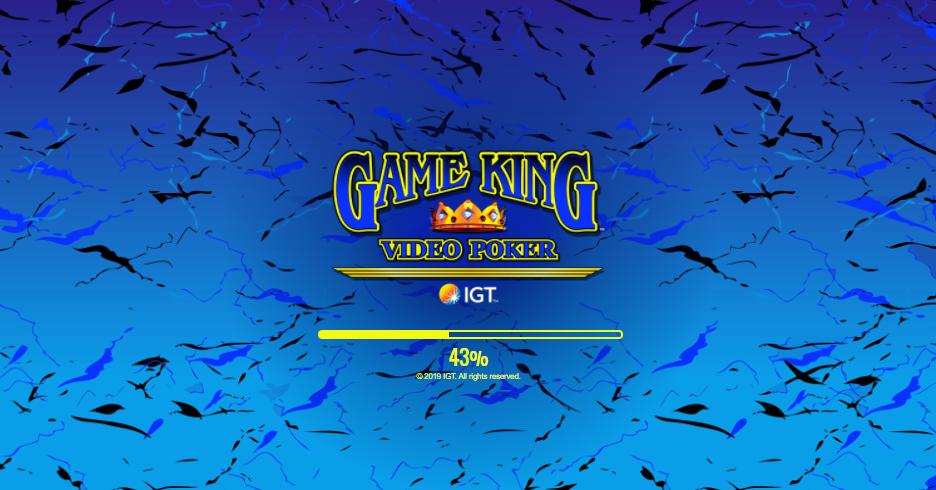 game king video poker slot
