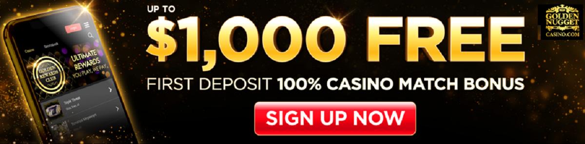Golden Nugget Casino Bonus MI