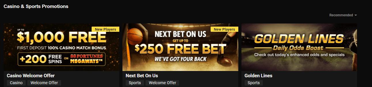 WV Casino promos