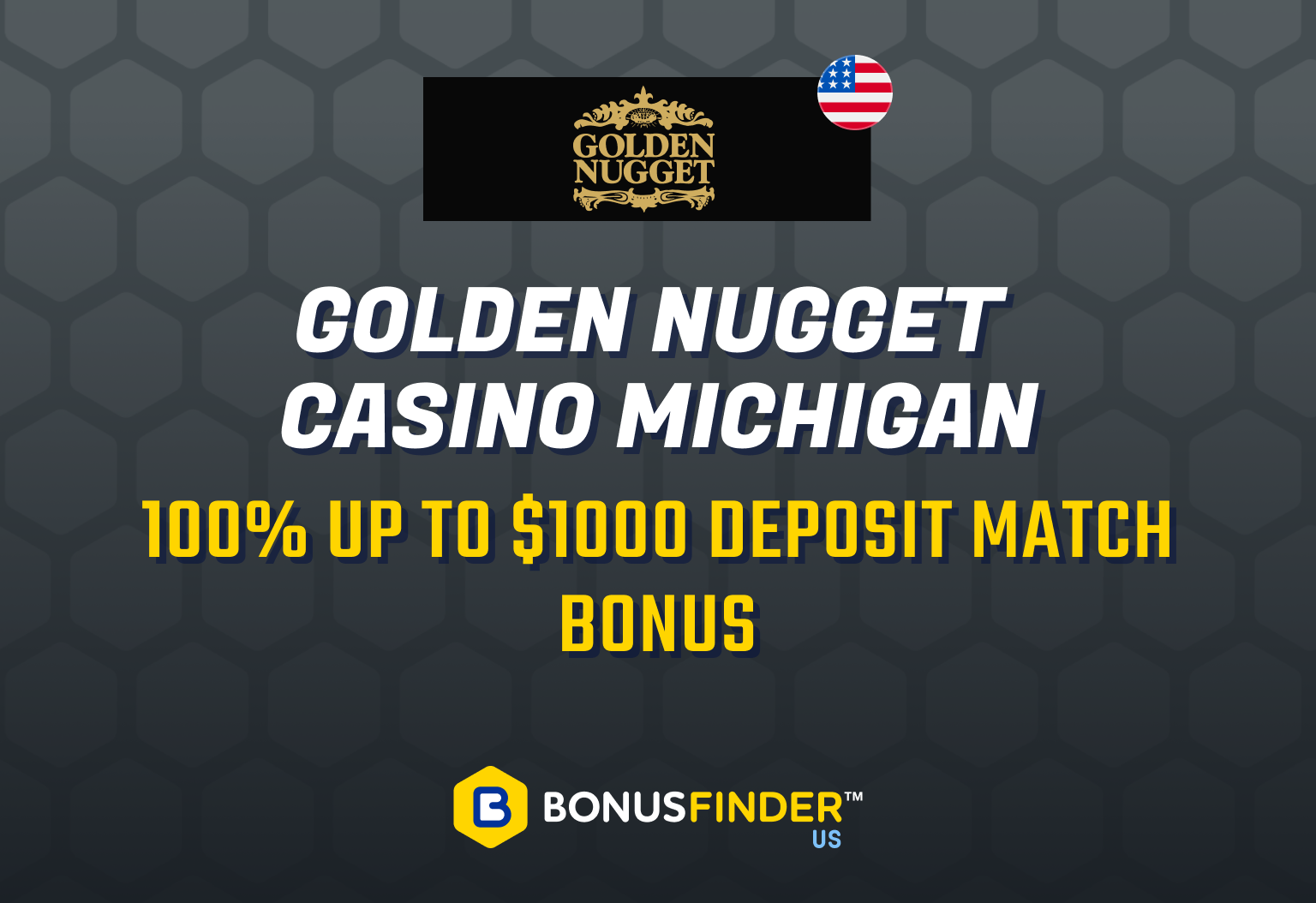 Golden Nugget Casino Michigan bonus code