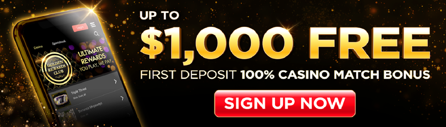 Golden Nugget Michigan Online casino welcome bonus offer
