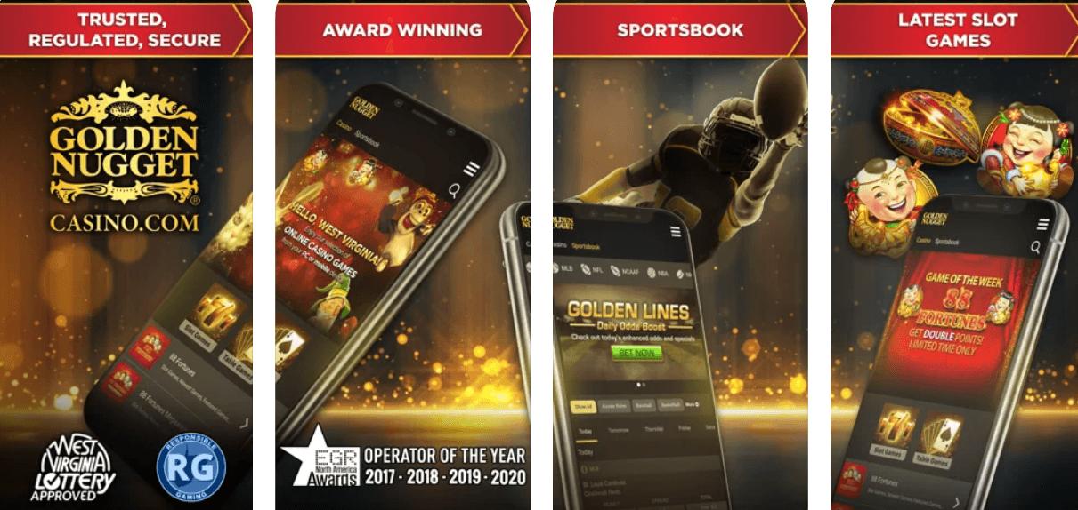 Golden Nugget WV mobile app