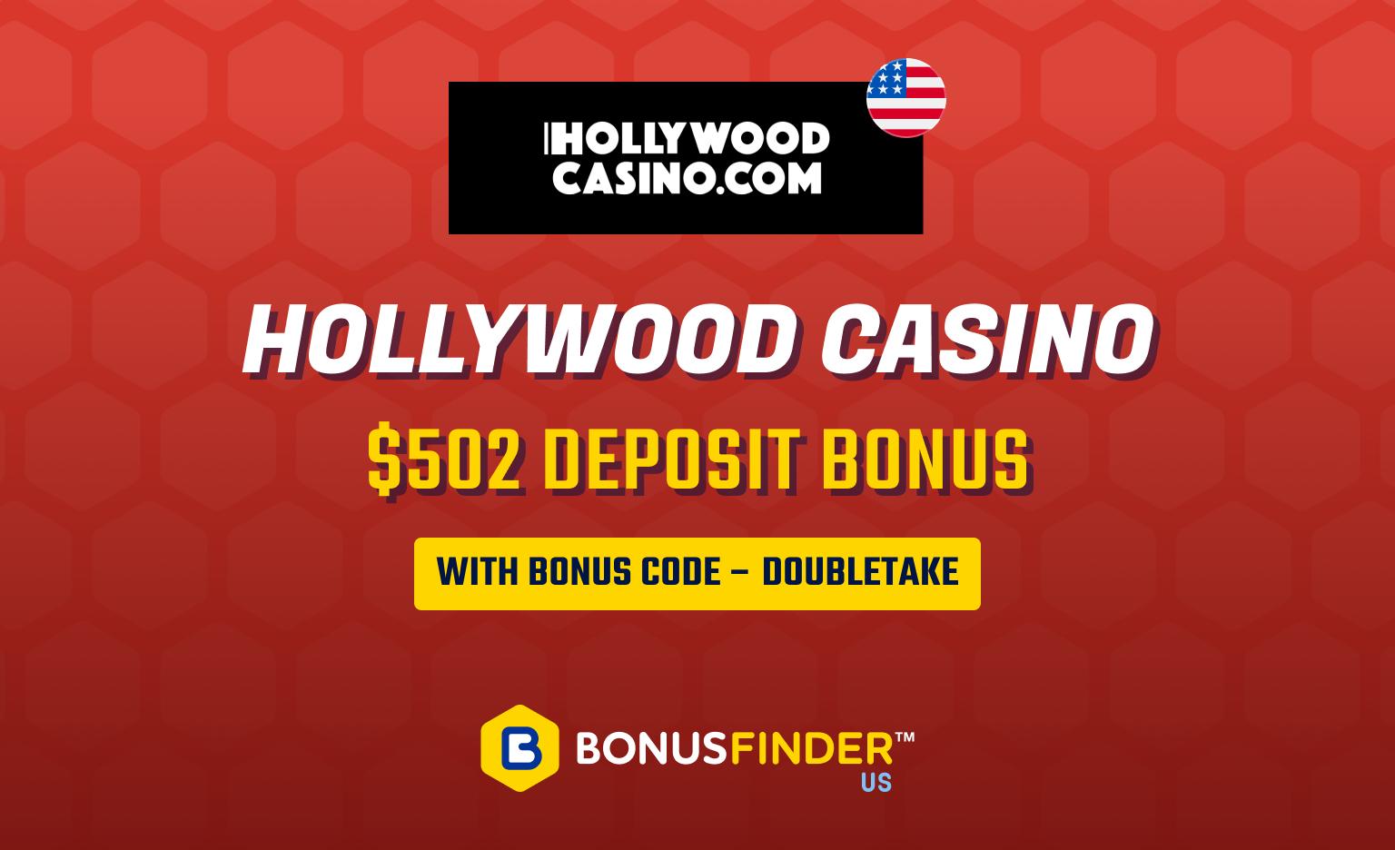 Hollywood Online Casino bonus code