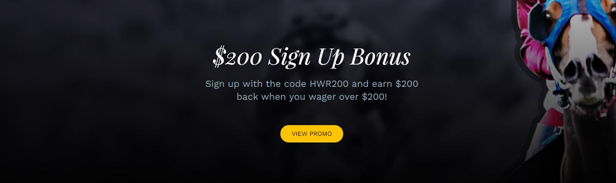 Hollywood races bonus code