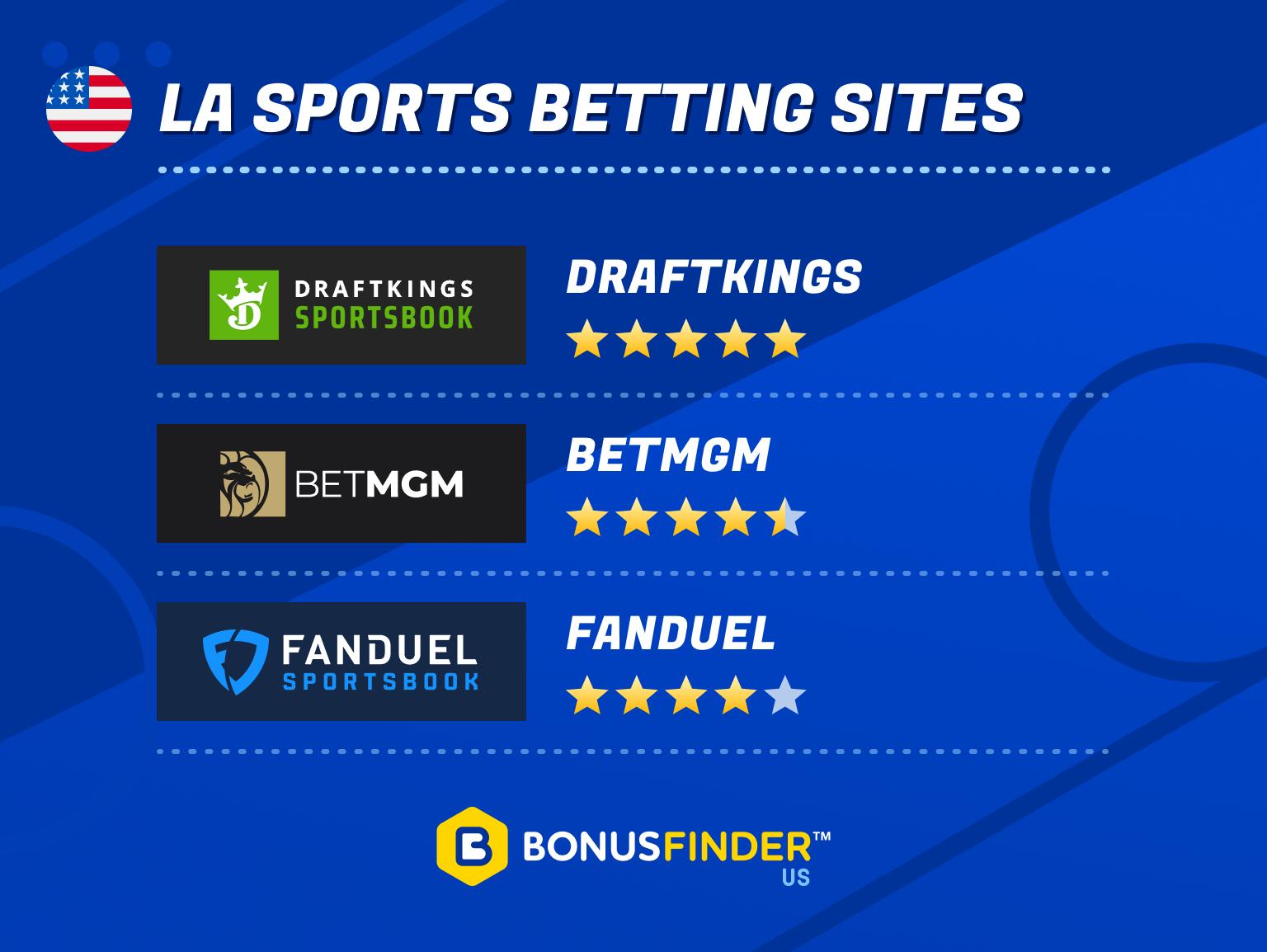 louisiana sports betting sites