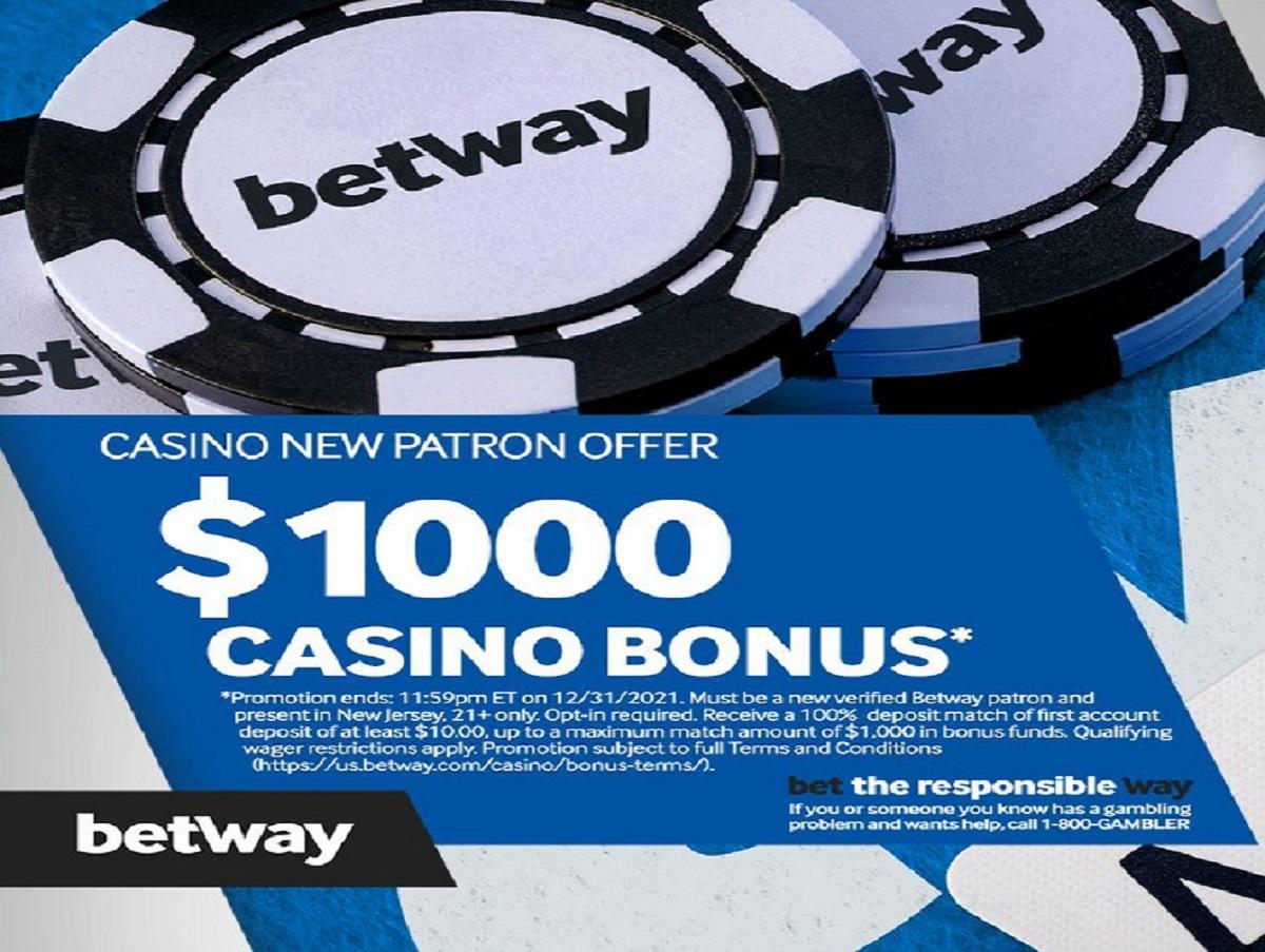 betway nj casino bonus