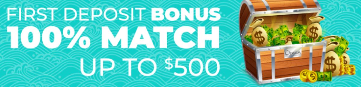 Ocean Casino Bonus Code