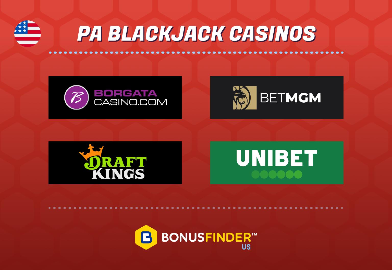 Online blackjack sites PA