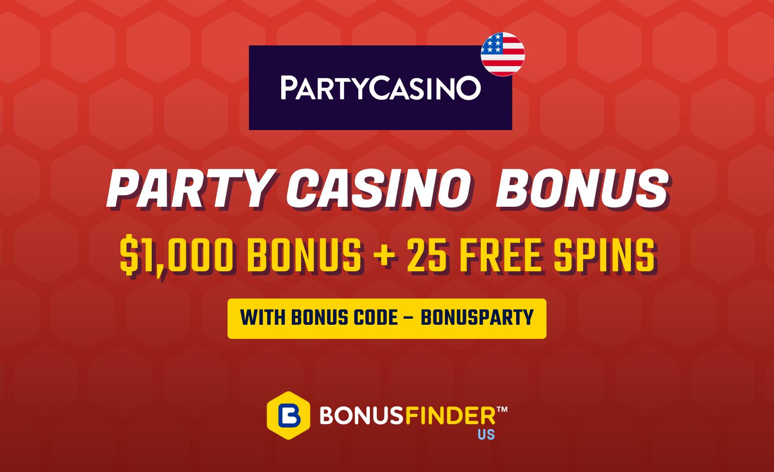 Party Casino Bonus Code