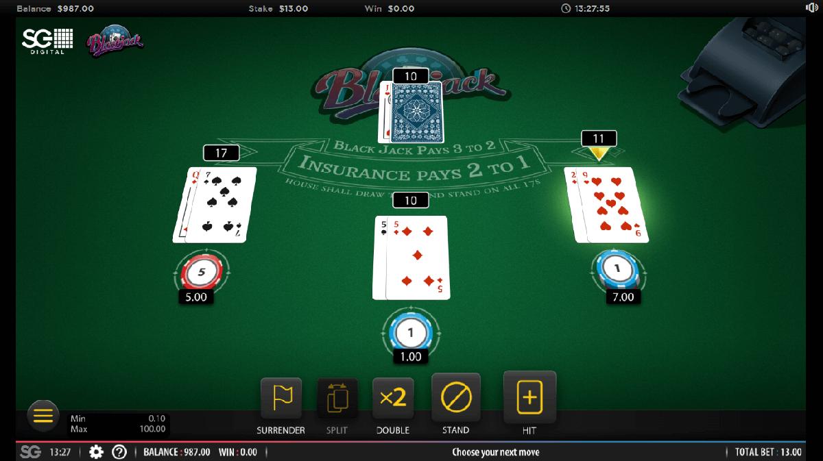 online blackjack USA