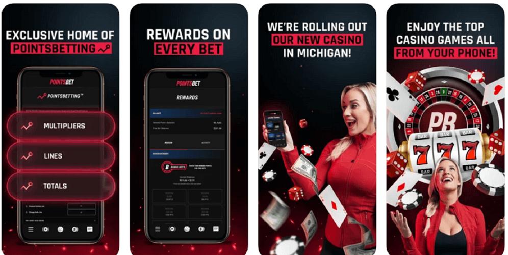 PointsBet Casino Mobile App