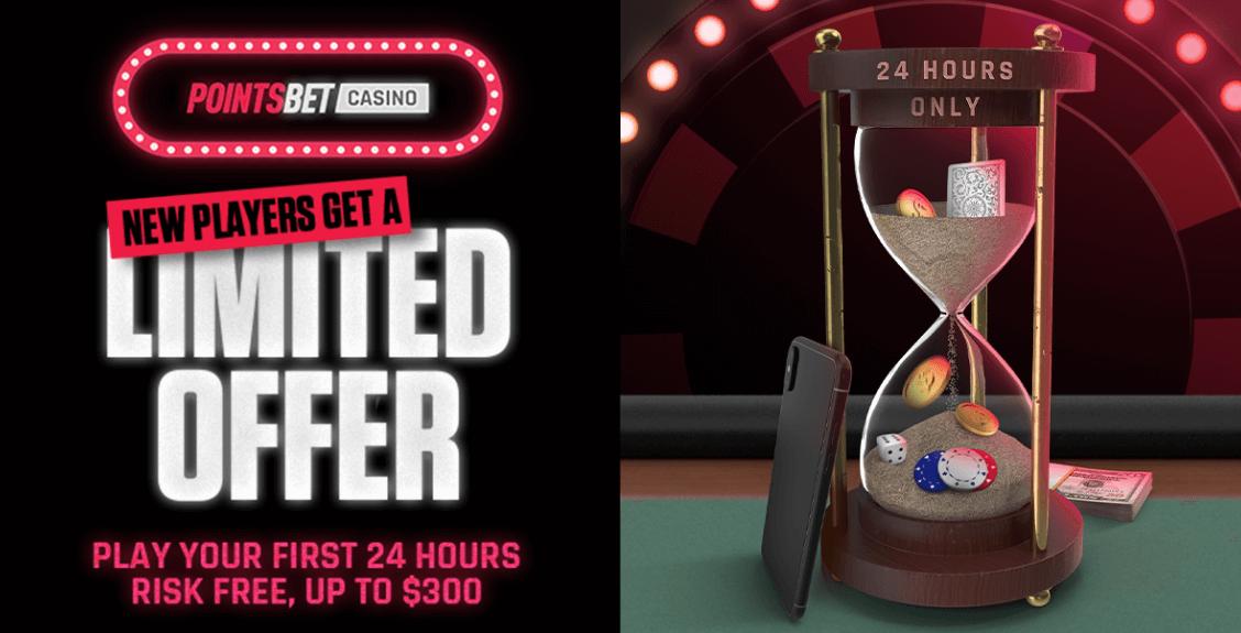 PointsBet casino Bonus offer