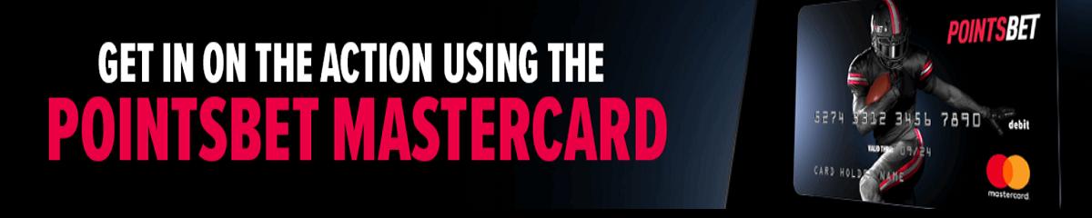 Pointsbet mastercard