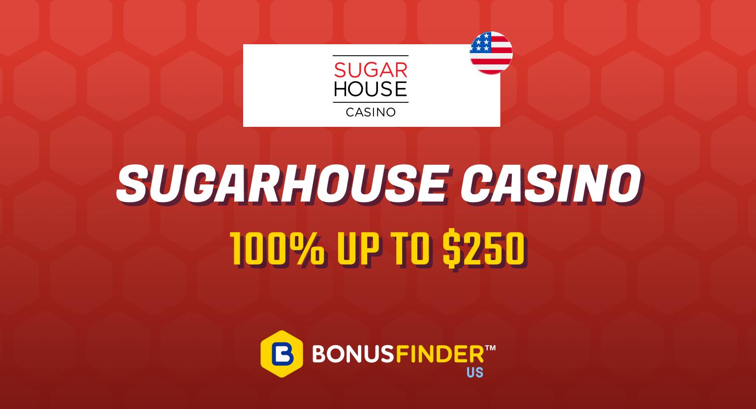 SugarHouse Promo code