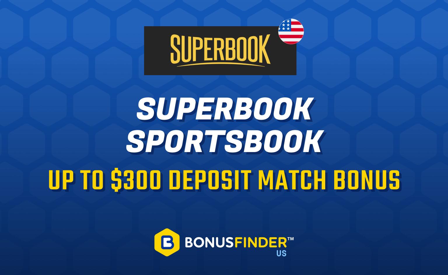 SuperBook Sportsbook bonus