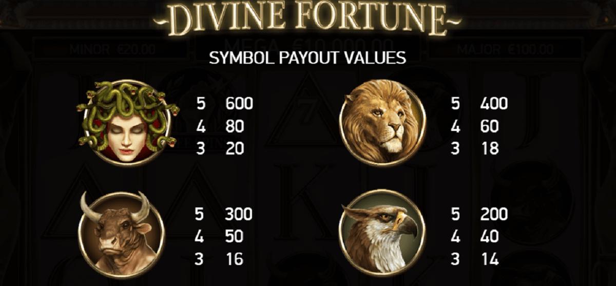Divine Fortune Online Casinos