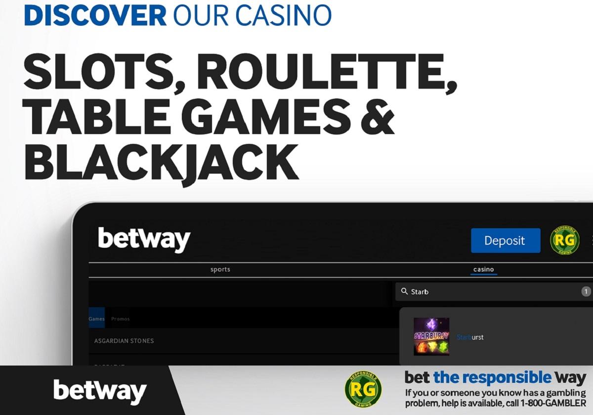 betway casino nj games