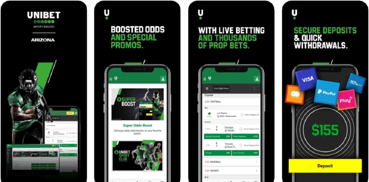 Unibet mobile app Arizona