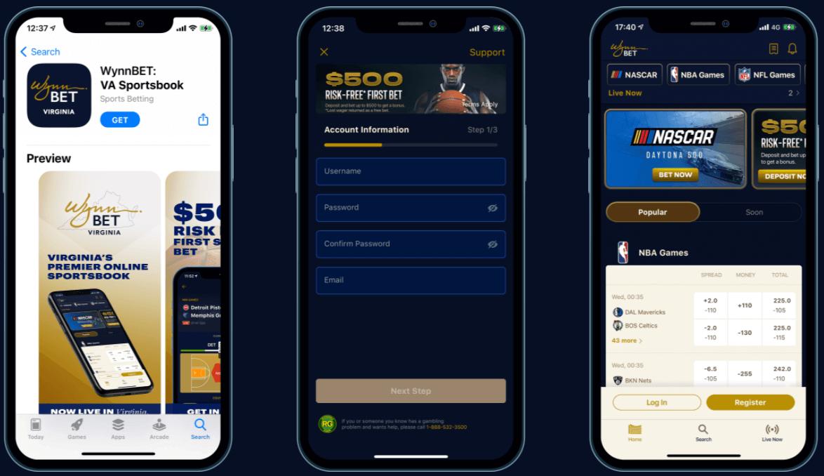 Virginia Online gambling WynnBET
