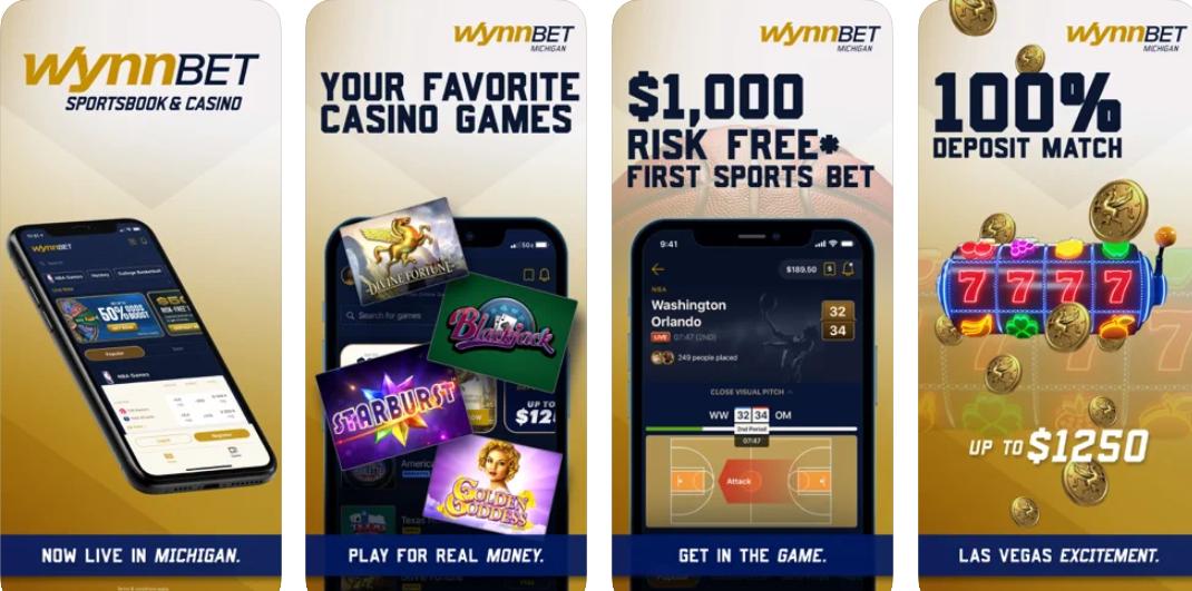 WynnBET mobile app