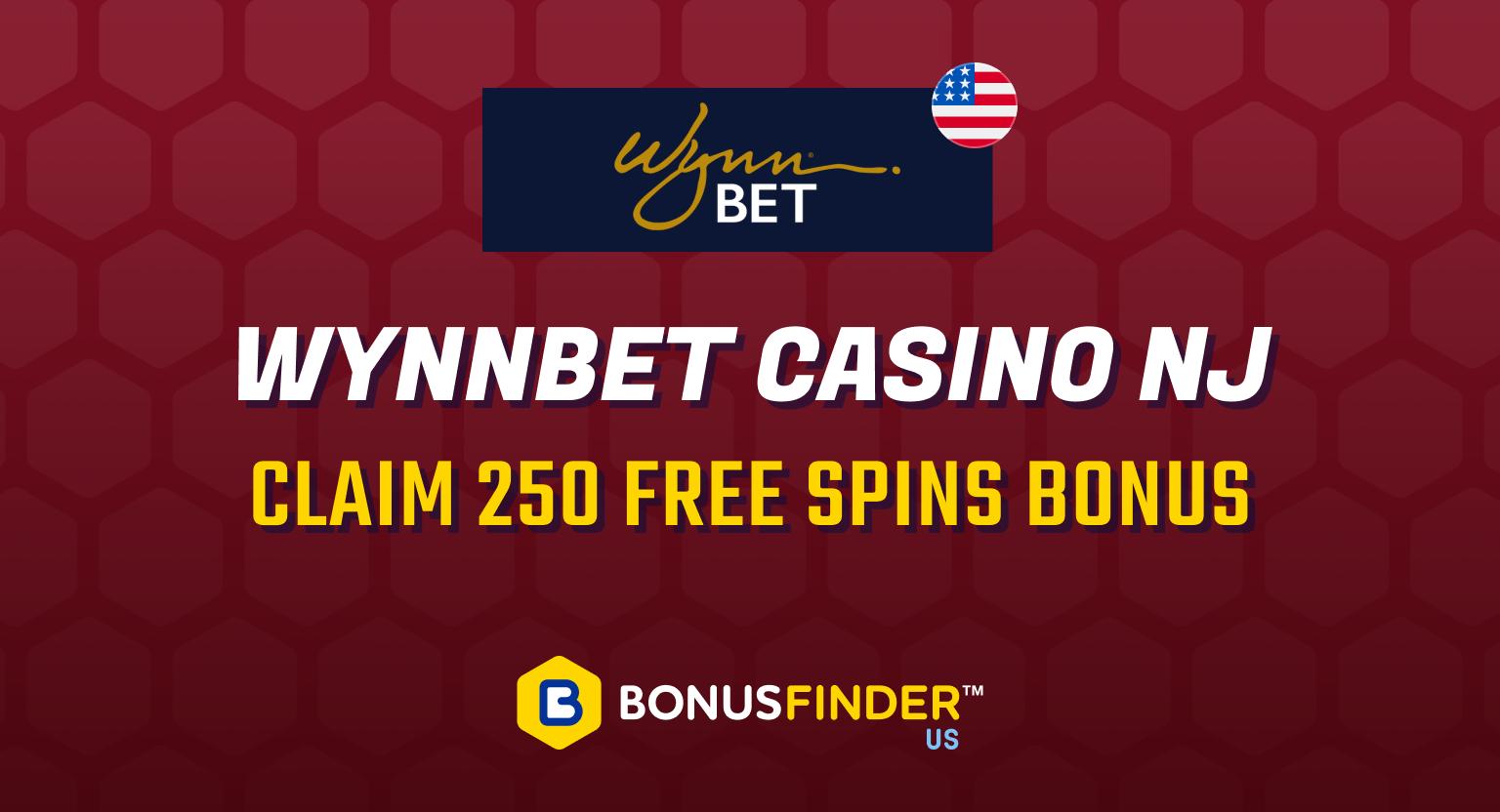 Wynn online casino nj promo code