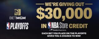Get nba shop credits by wagering on betmgm