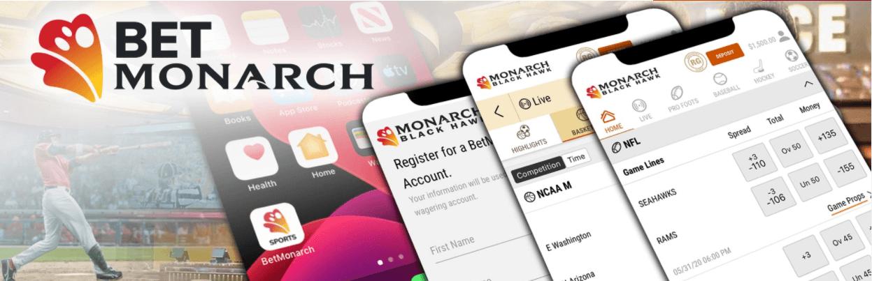 Betmonarch Sportsbook App